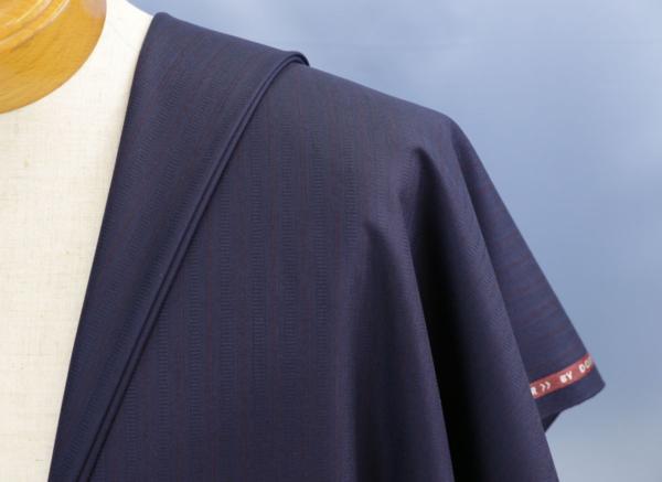 ★ドーメル「アンバサダー」生地価格90万円・濃紺ストライプ